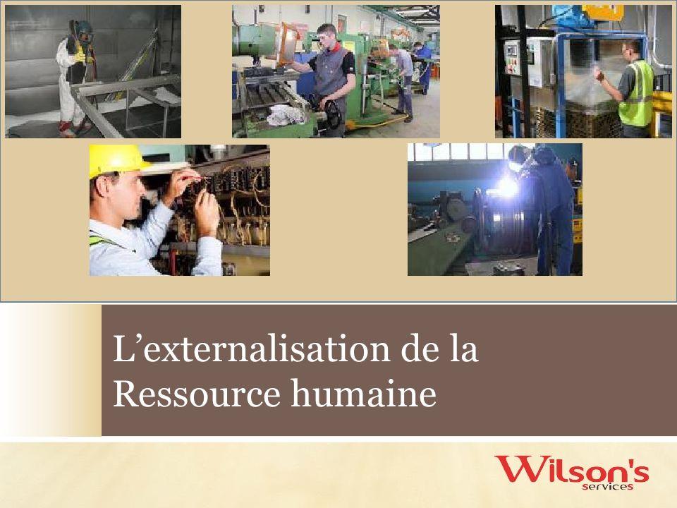 Lexternalisation de la Ressource humaine