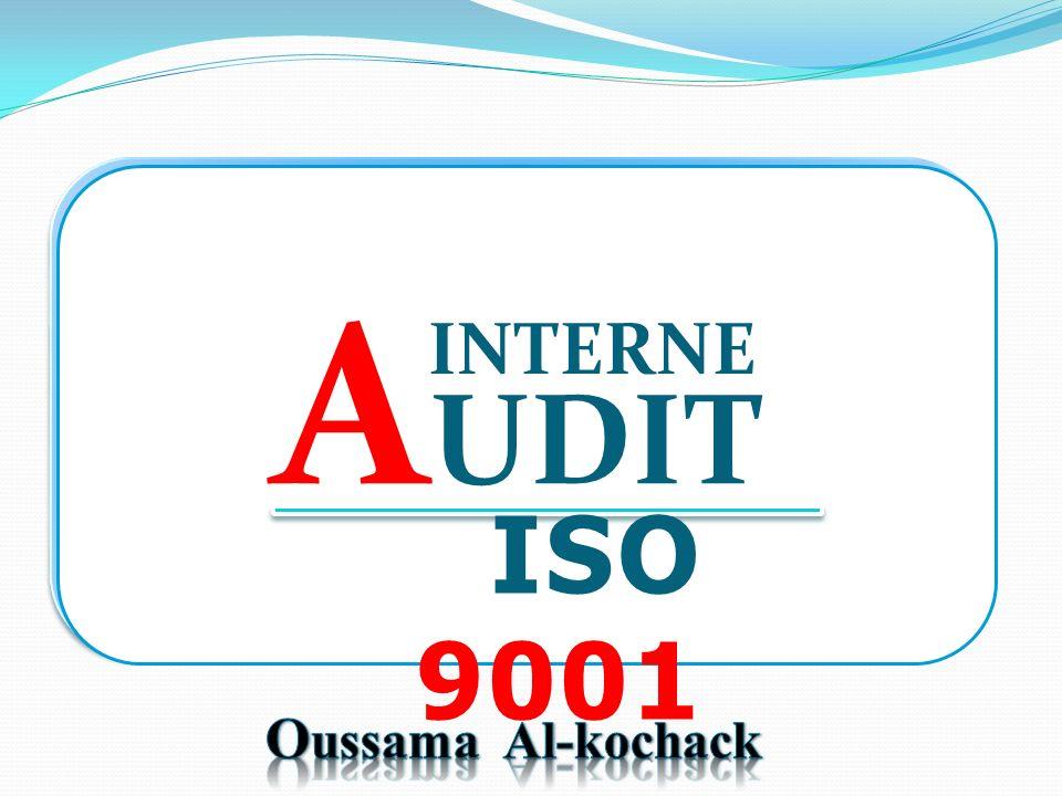 A UDIT INTERNE ISO 9001