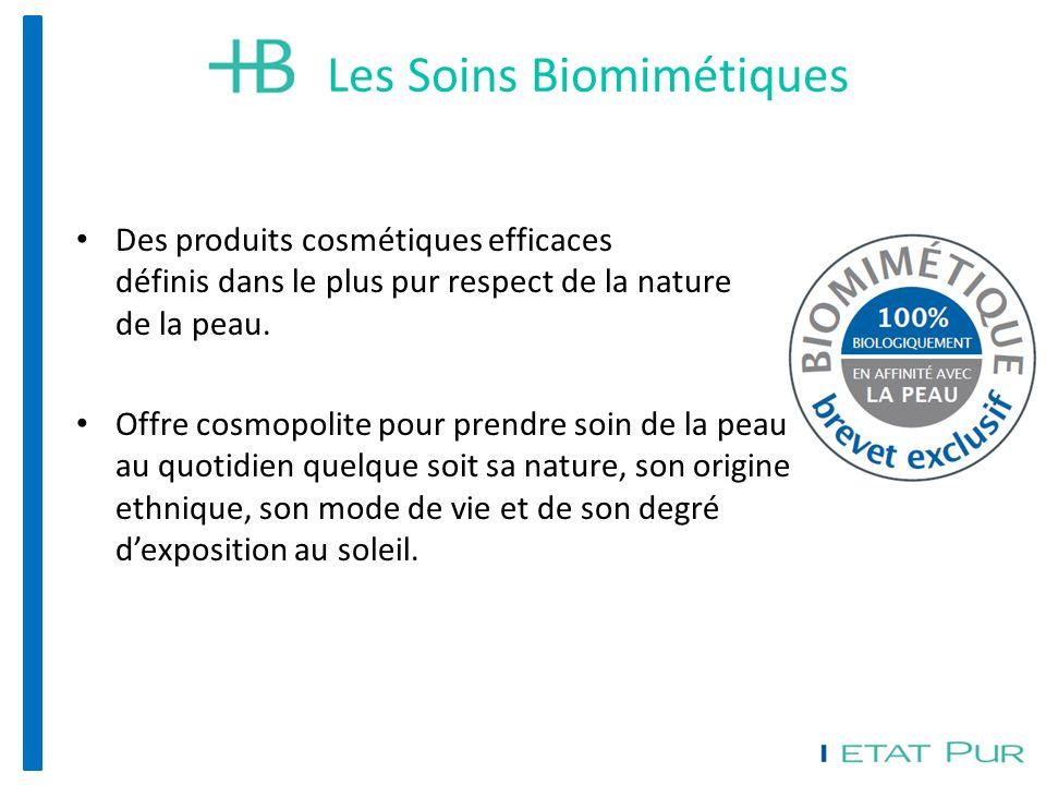 Des produits cosmétiques efficaces définis dans le plus pur respect de la nature de la peau.