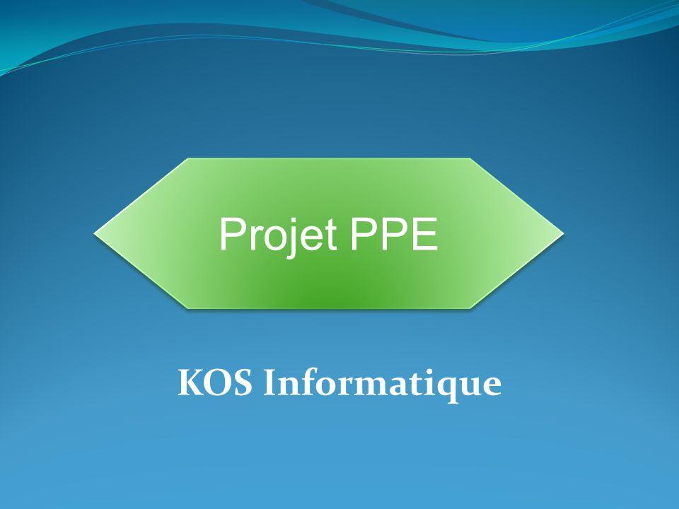 KOS Informatique Projet PPE