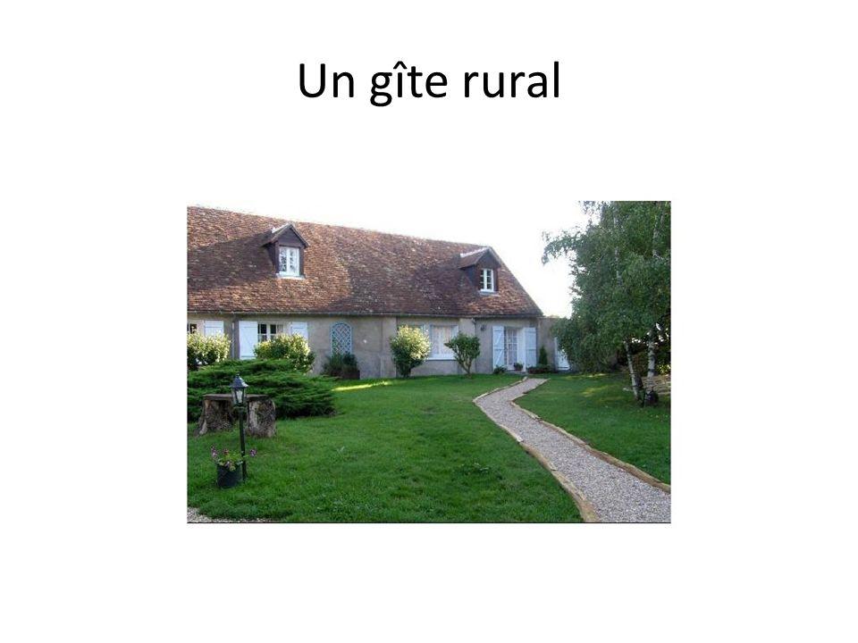 Un gîte rural