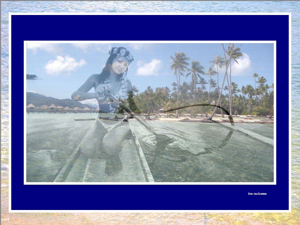 Raiatea et Tahaa étaient une seule et même île, mais les habitants racontent Qu'une anguille géante avala une jeune fille ! Possédée par son esprit, l
