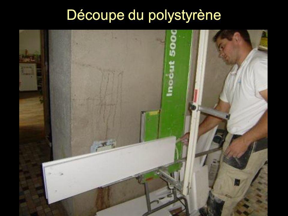 Découpe du polystyrène