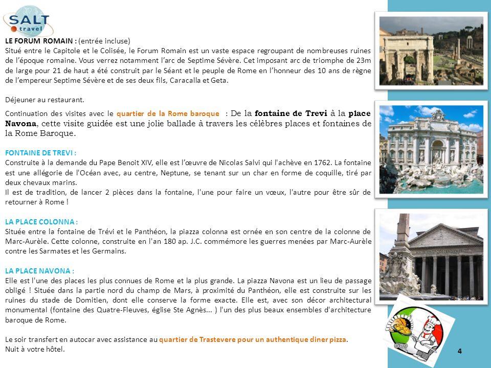 Jour 3 : le Vatican- Galerie Borghese Petit déjeuner à votre hôtel.