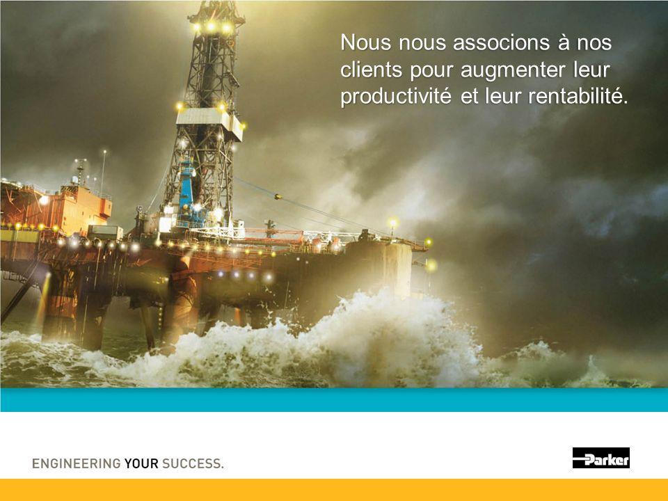 Nous nous associons à nos clients pour augmenter leur productivité et leur rentabilité.