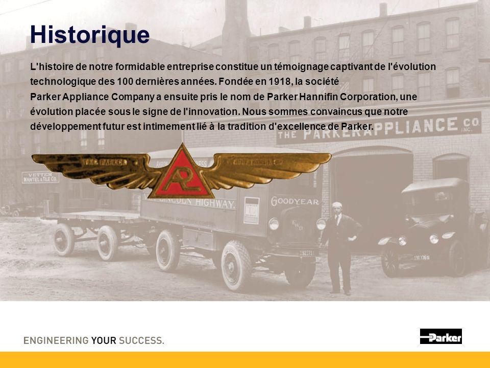 Historique L histoire de notre formidable entreprise constitue un témoignage captivant de l évolution technologique des 100 dernières années.