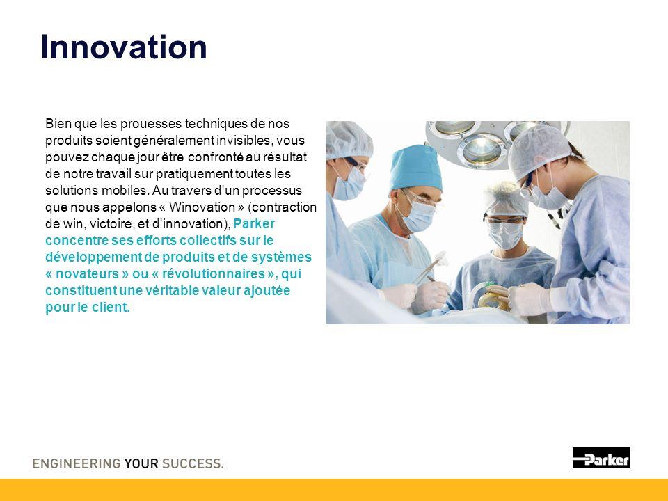 Innovation Bien que les prouesses techniques de nos produits soient généralement invisibles, vous pouvez chaque jour être confronté au résultat de notre travail sur pratiquement toutes les solutions mobiles.