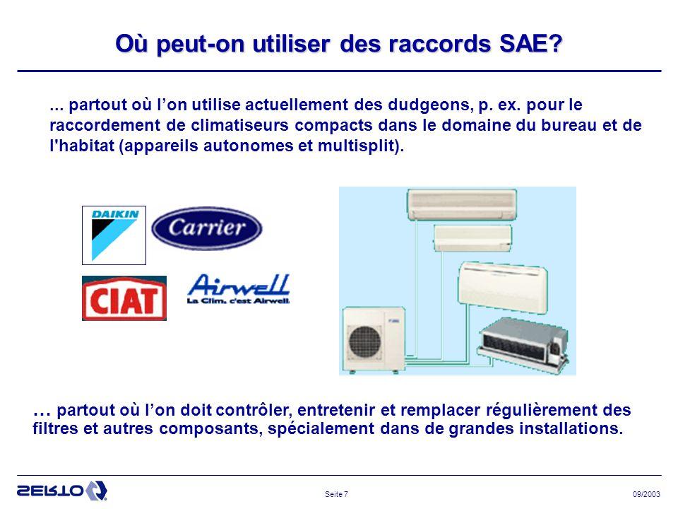 09/2003Seite 18 Outils de calibrage et d évasement Calibreur Outils de calibrage