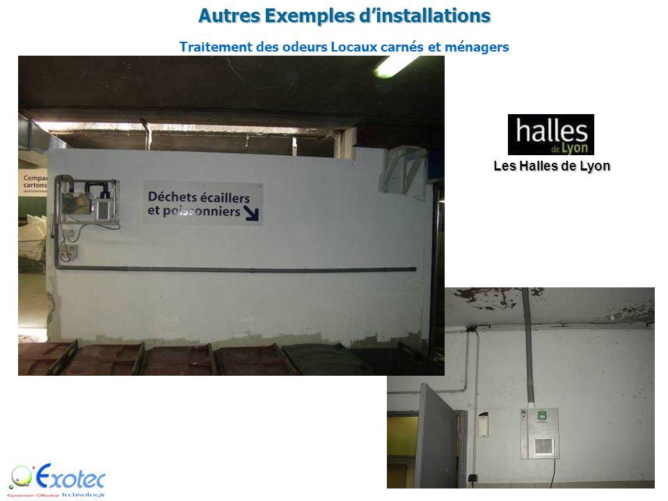 Exemples dinstallations Traitement de lair et des odeurs dans une salle de Conservation de corps Funérarium de Lyon
