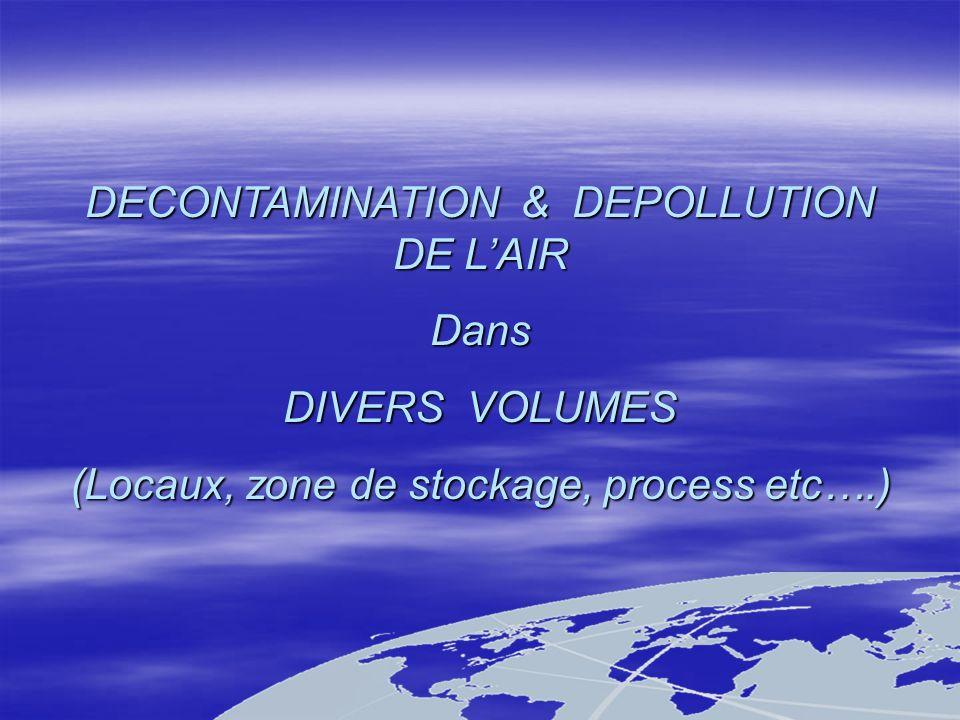 Exemples de réalisations Décontamination de lair et Traitement des Odeurs dans des blocs sanitaires