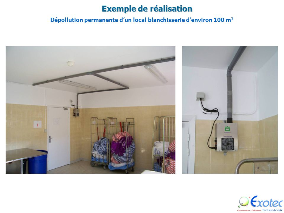 DECONTAMINATION & DEPOLLUTION DE LAIR Dans DIVERS VOLUMES (Locaux, zone de stockage, process etc….)
