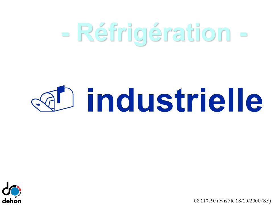 08 117.50 révisé le 18/10/2000 (SF) Conclusions : Le remplacement du R-22 en air-conditionné (fixe) Les solutions long terme sont déjà présentes :.