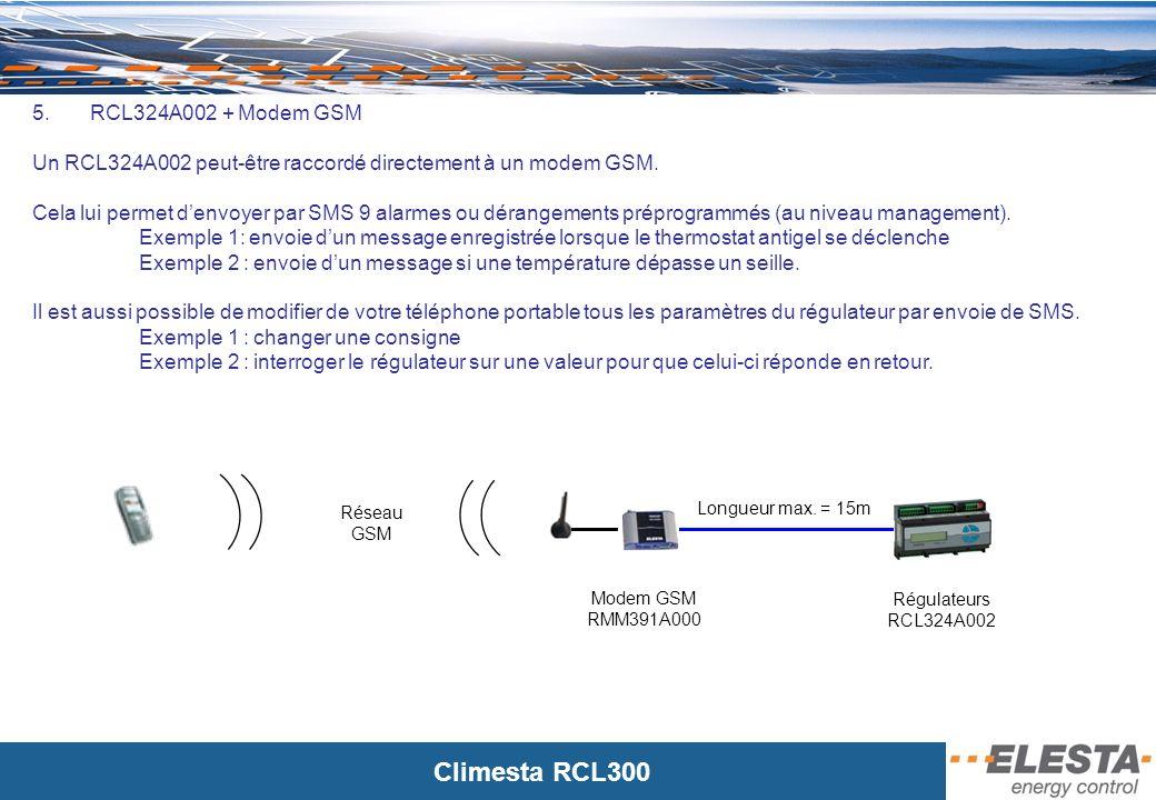 Climesta RCL300 Webclient 6.