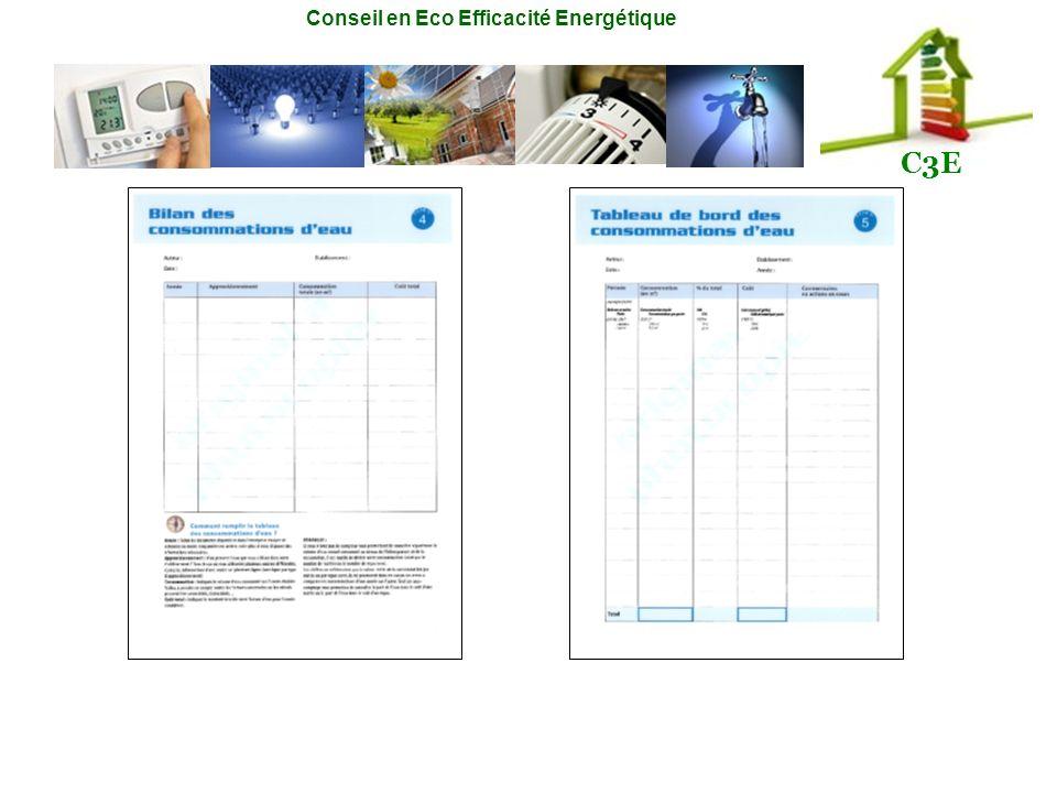 Conseil en Eco Efficacité Energétique C3E
