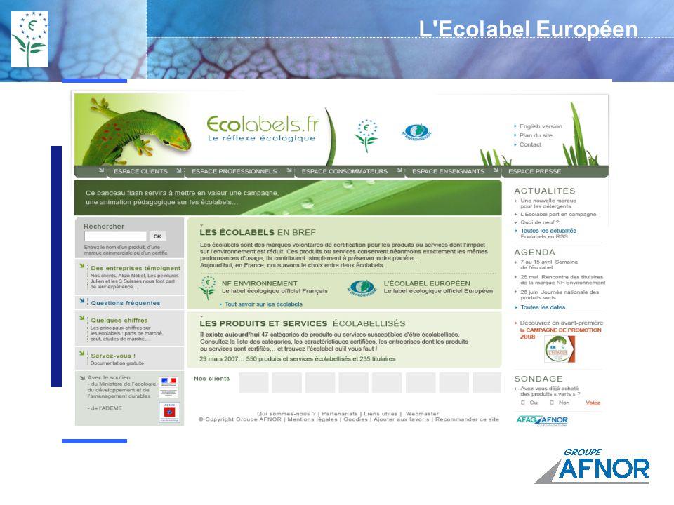 L Ecolabel Européen