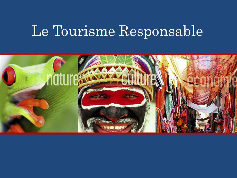Le Tourisme Responsable