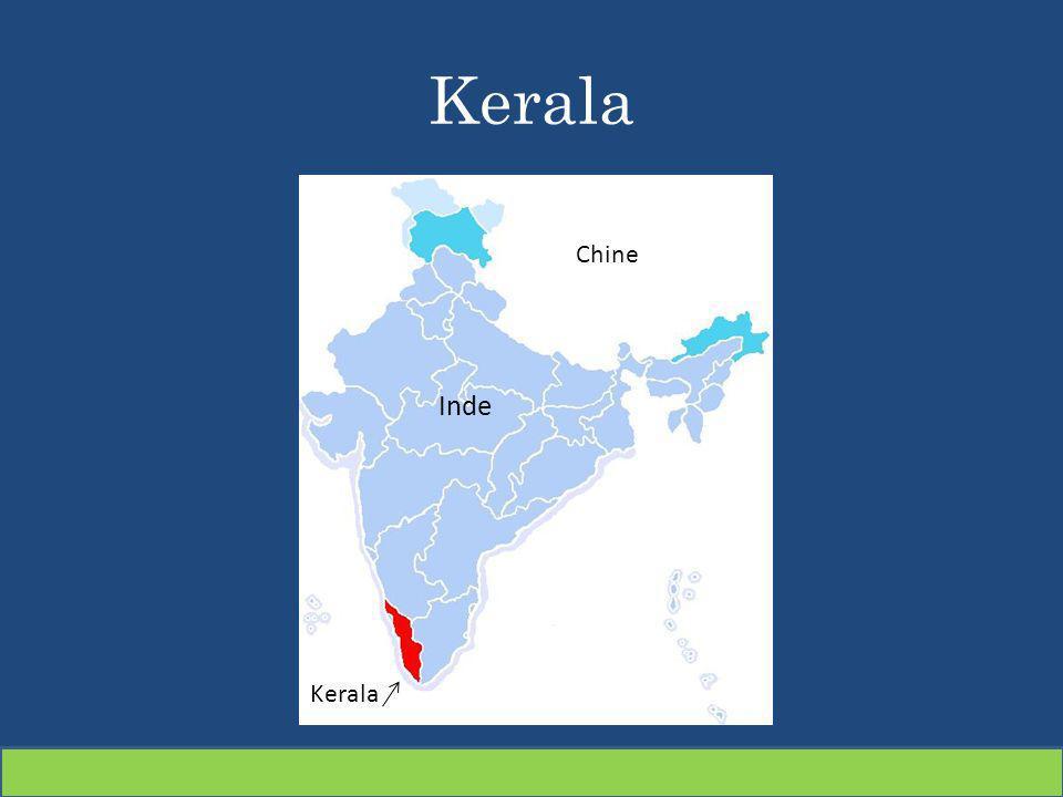 Kerala Inde Kerala Chine