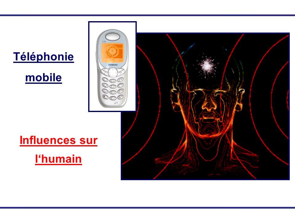 Téléphonie mobile Influences sur lhumain