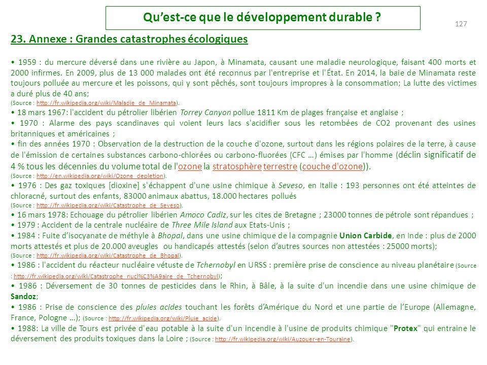 126 Quest-ce que le développement durable .22.