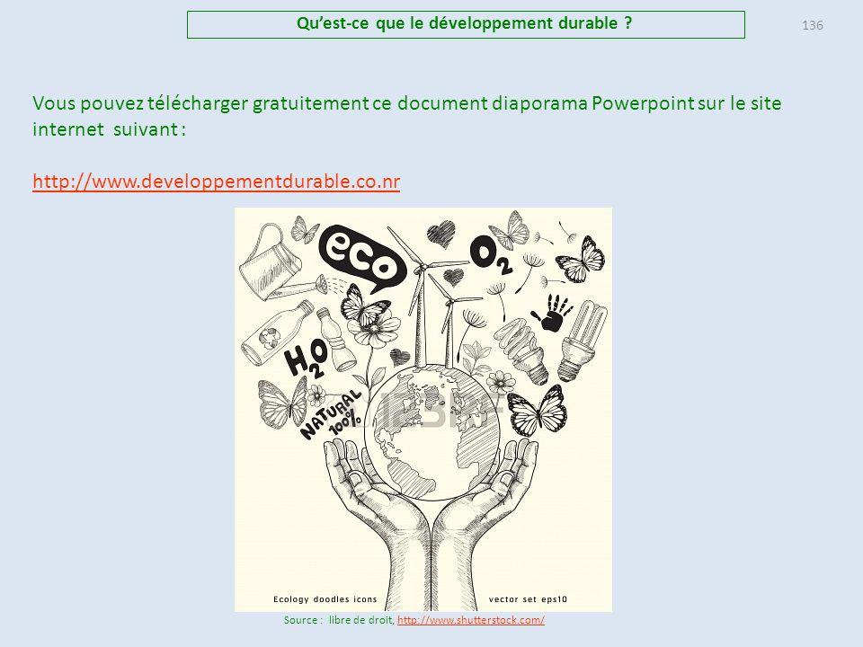 25. Annexe : Historique de léveil de la conscience écologiste En 1992, les Nations-Unis organisent, à Rio, le Sommet de la Terre, qui aboutit à l'adop