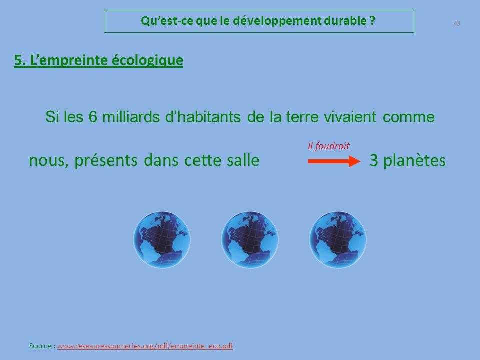 69 Quest-ce que le développement durable .