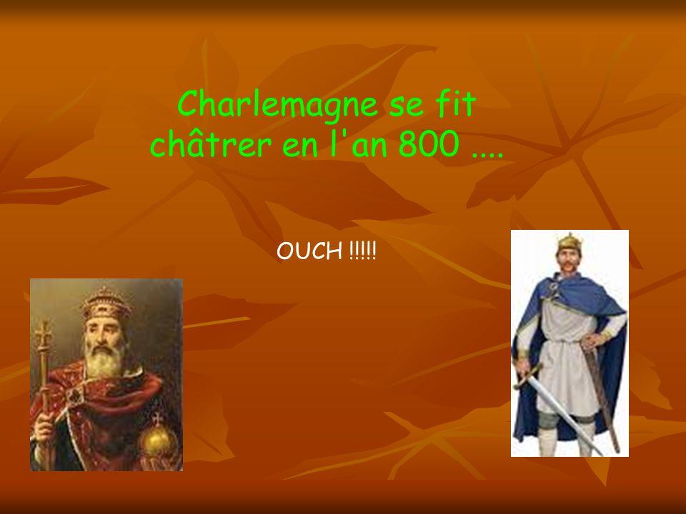 Clovis mourut à la fin de sa vie... il en a eu de la chance !!!!