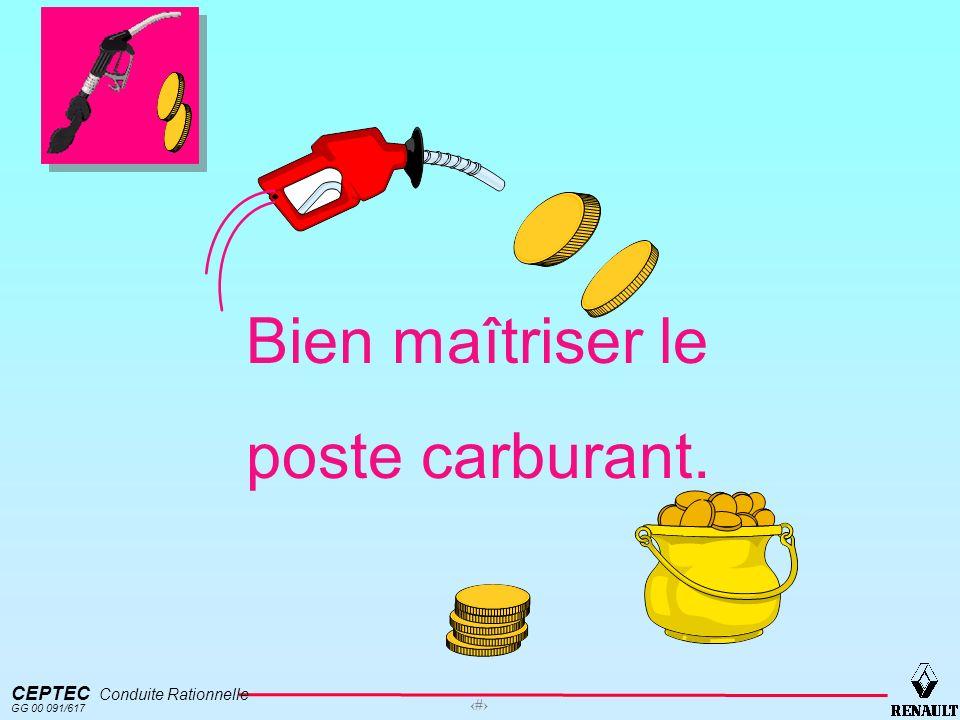 CEPTEC Conduite Rationnelle GG 00 091/617 5 Les paramètres influents sur la consommation.