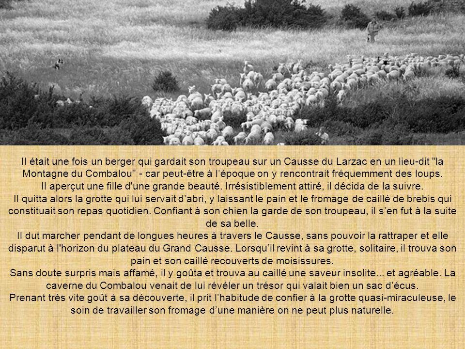 Il était une fois un berger qui gardait son troupeau sur un Causse du Larzac en un lieu-dit la Montagne du Combalou - car peut-être à lépoque on y rencontrait fréquemment des loups.