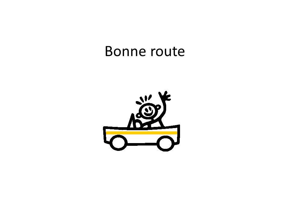 Bonne route