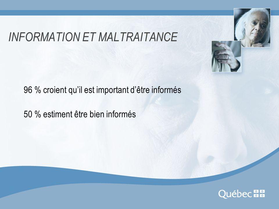 COMMENT CONTRER LA MALTRAITANCE.