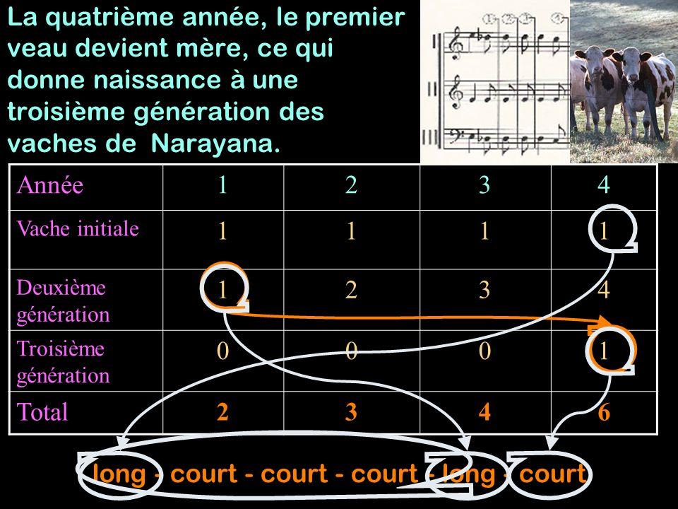 Année 1 long-court 2 long-court-court 3 long-court-court-court 4 long-court-court-court- long-court =+
