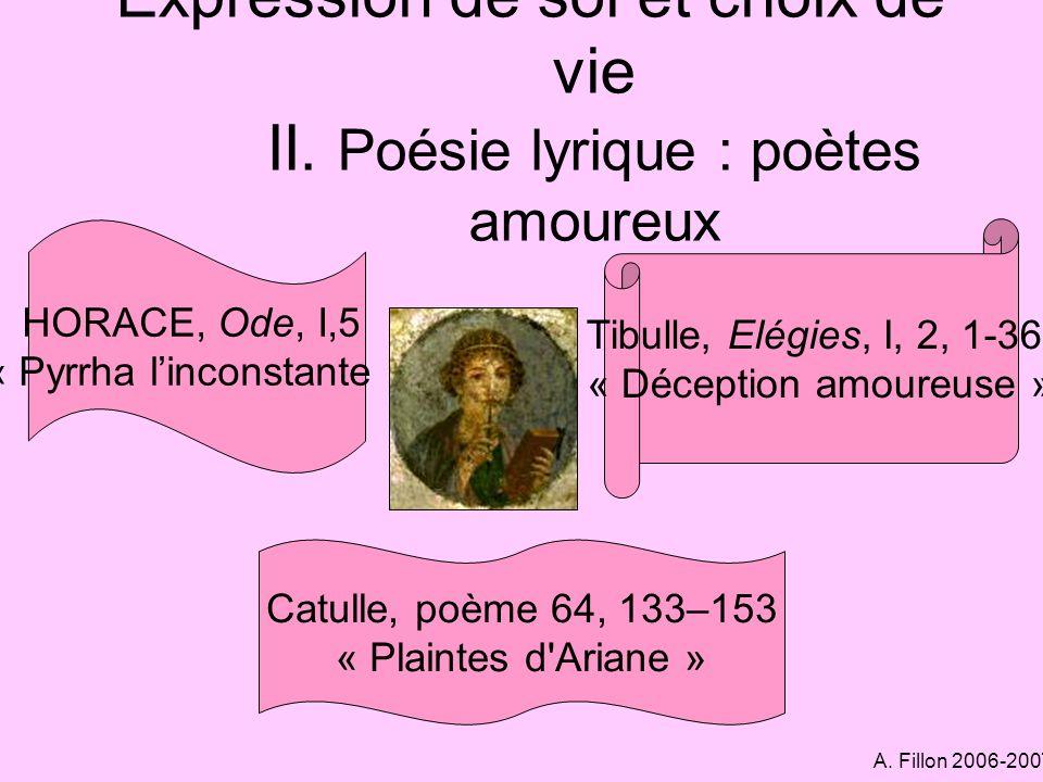 A.Fillon 2006-2007 Histoire Un grand historien, Tite-Live...