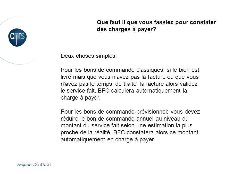 Délégation Côte dAzur l Que faut il que vous fassiez pour constater des charges à payer.
