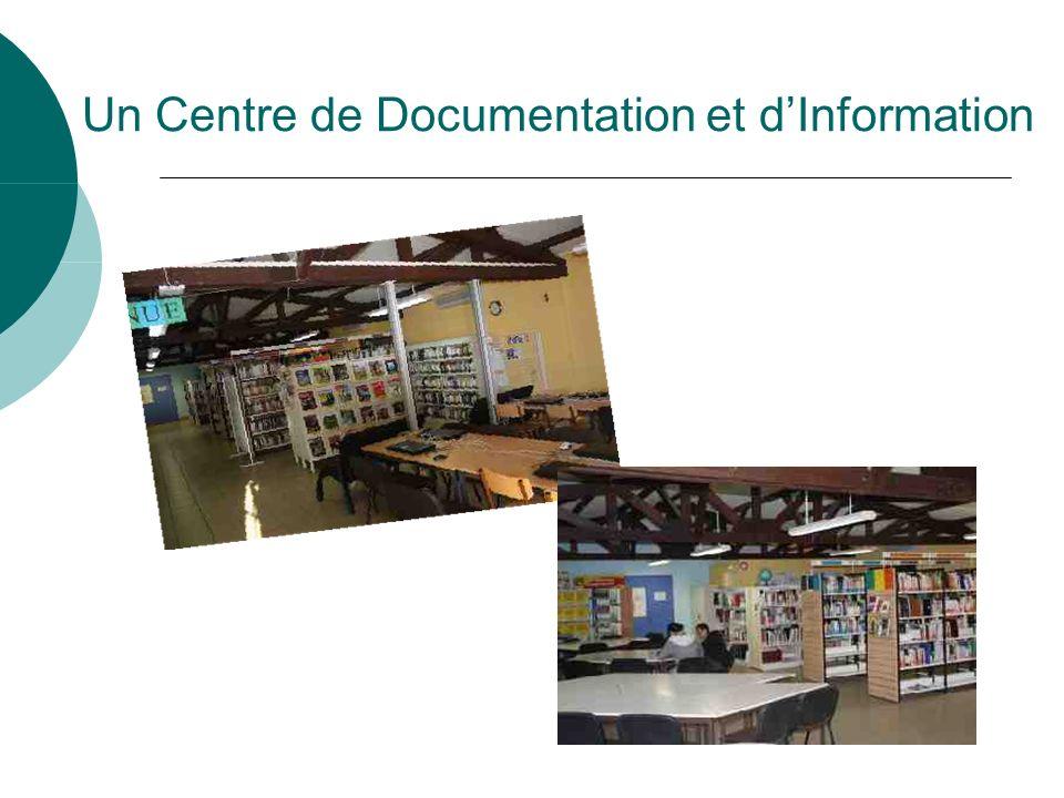 Un Centre de Documentation et dInformation