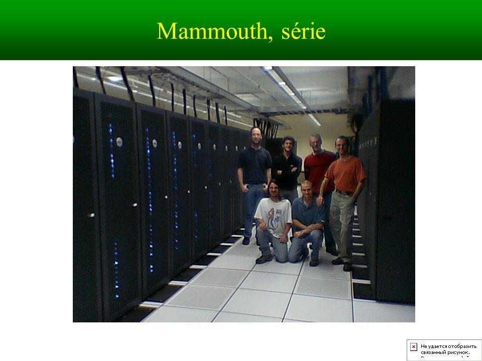 Mammouth, série