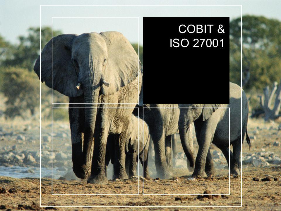 COBIT & ISO 27001