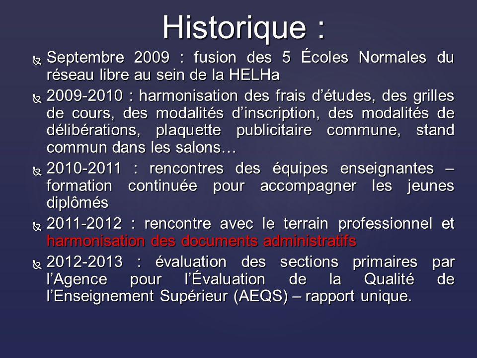 Les critères de réussite Le système européen des ECTS Critères de réussite 10/20 dans chacun des cours 12/20 pour le cours de maîtrise de la langue 10/20 pour les stages 12/20 de moyenne sur lensemble des cours et des stages 2.