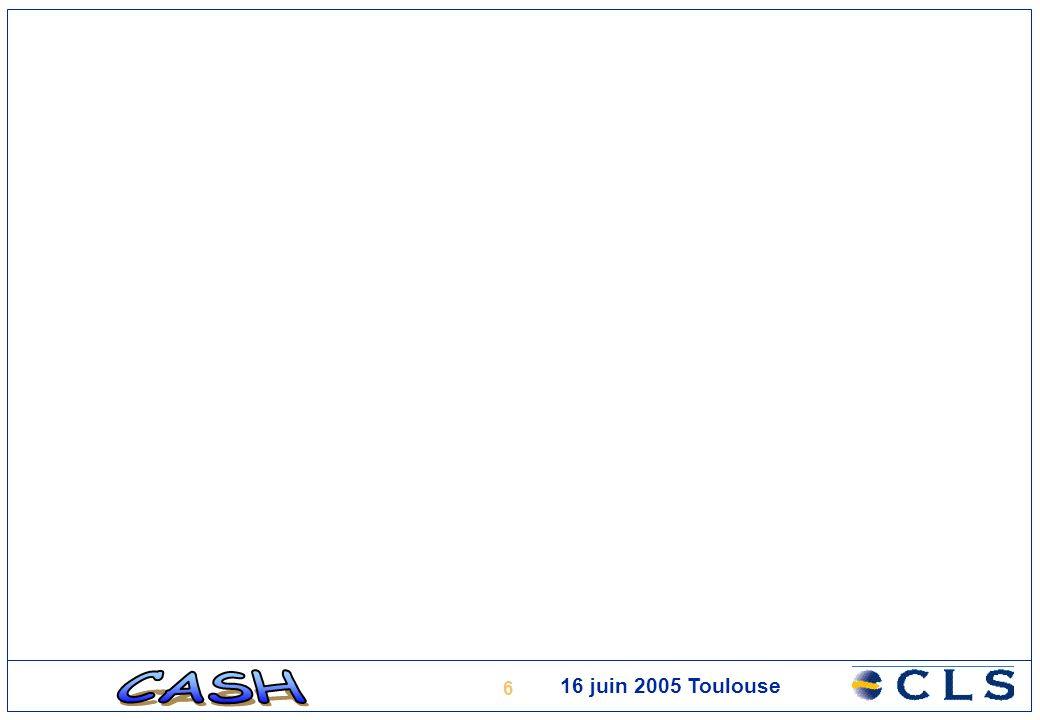 7 Analyse du retracking Exemple dapport du retracking des données Topex/Poseidon Points rouges: données GDR, produit « océanique » Points jaunes: mesures apportées par le retracking (SDR, formes donde) Passage de Topex/Poseidon en juin 2002 entre la ville de Manaus et la zone de confluence du Rio Negro et du Solimoes