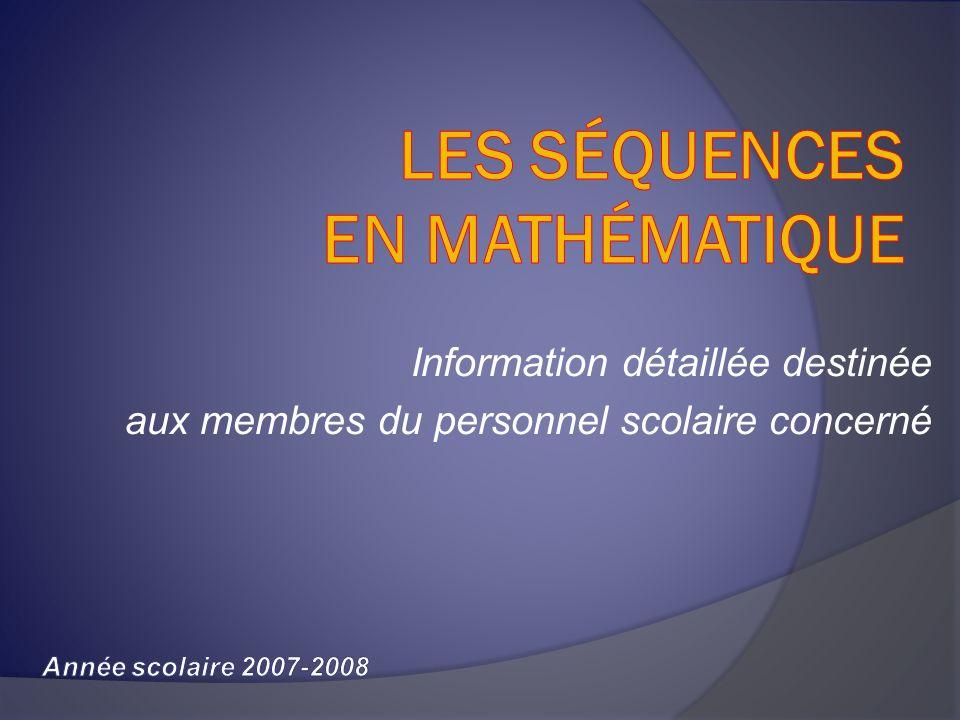 Les possibilités pour un élève ayant échoué en 4 e secondaire la séquence TS Programme de 4 e sec.
