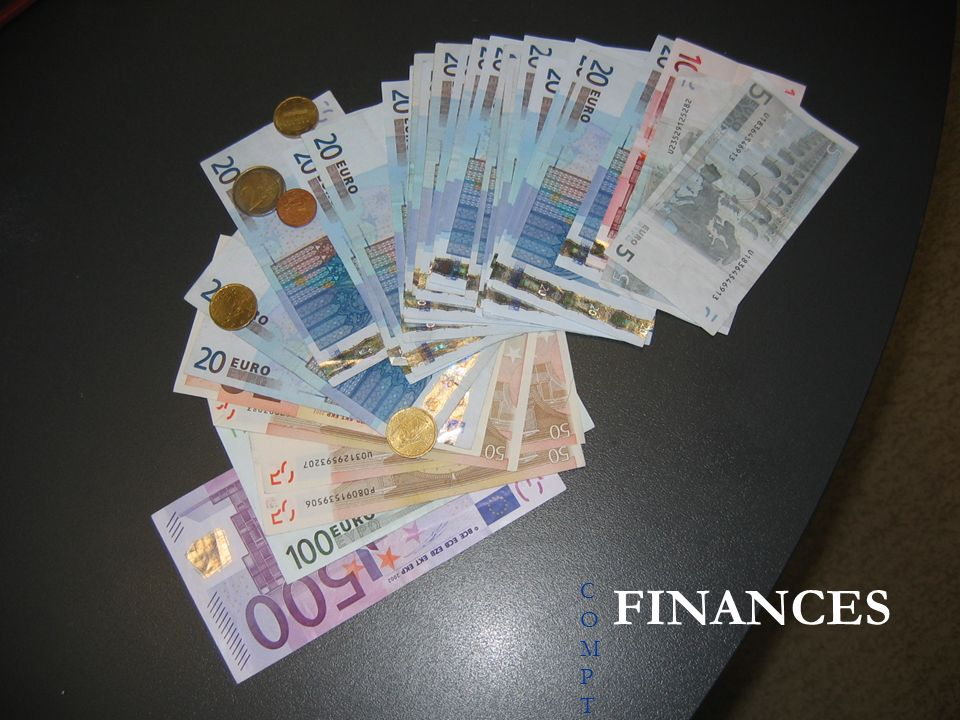 COMPTE RENDU FINANCIERCOMPTE RENDU FINANCIER FINANCES