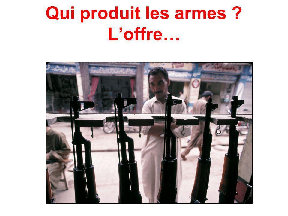 Qui produit les armes ? Loffre…