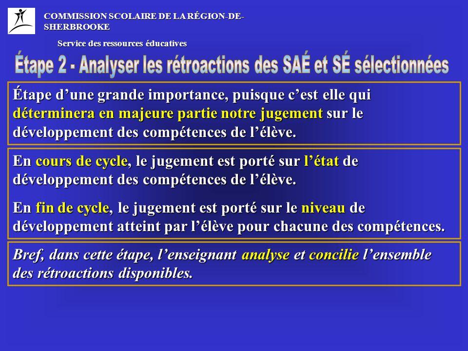 La fonction de cette description est donc de fournir une représentation générale du niveau de compétence et non de proposer une liste exhaustive déléments à vérifier.