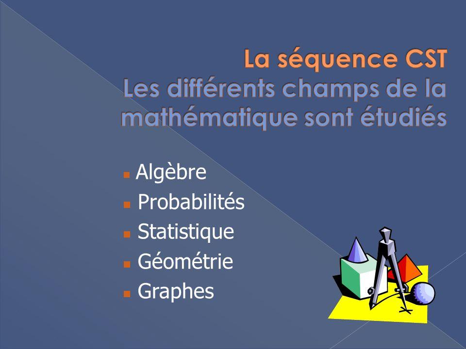 Algèbre Probabilités Statistique Géométrie Graphes