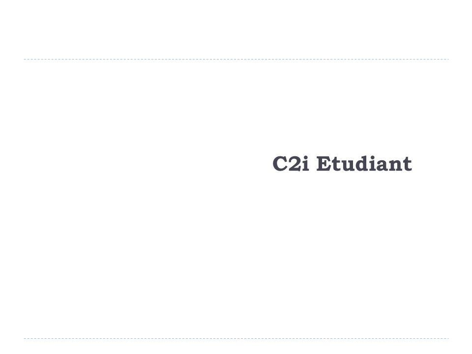 C2i Etudiant (1/5) Public concerné Sont admis à se présenter à la certification C2i : Tous les étudiants régulièrement inscrits dans un établissement Les publics de formation continue intégrés dans des formations universitaires diplômantes ou qualifiantes.
