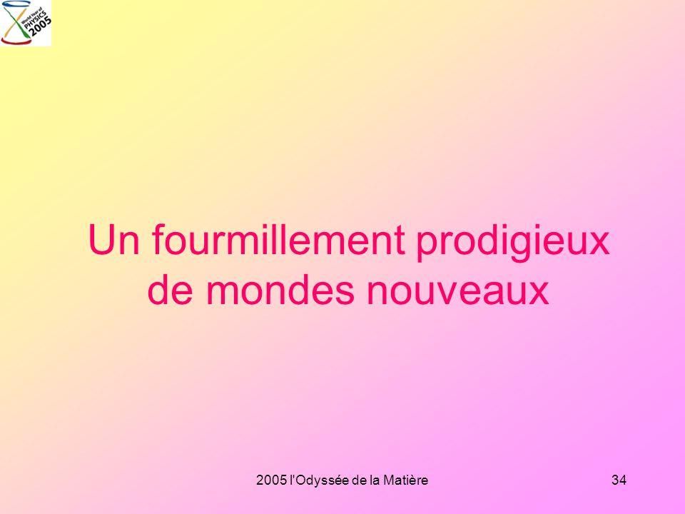 2005 l'Odyssée de la Matière33