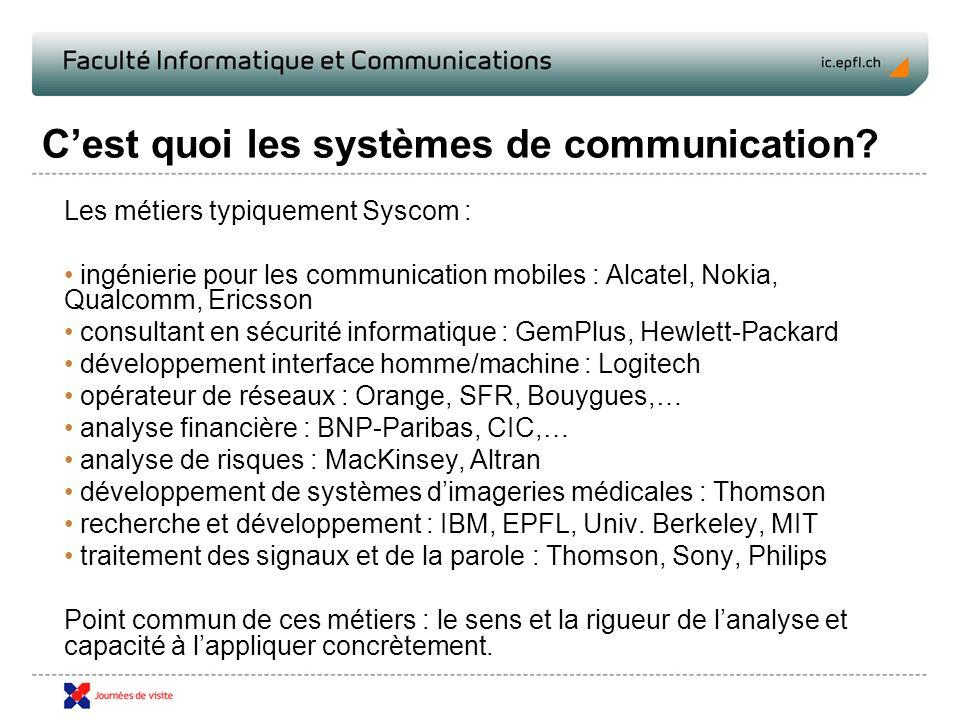 Cest quoi les systèmes de communication.