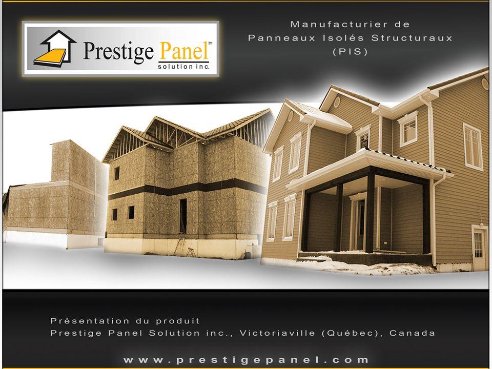 Les Panneaux Isolés Structuraux Prestige Panel: Les Panneaux Isolés Structuraux (ou Panneaux Isolants Structuraux), PIS, sont des matériaux composites de construction.