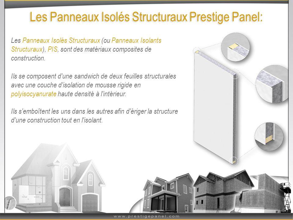 Lefficacité éco-énergétique: La Solution Éco-Énergétique : Les panneaux Prestige Panel sont les matériaux de construction les plus éco-énergétiques offerts sur le marché.
