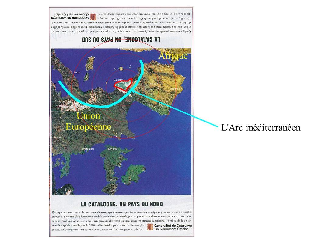 L Arc méditerranéen Union Européenne Afrique