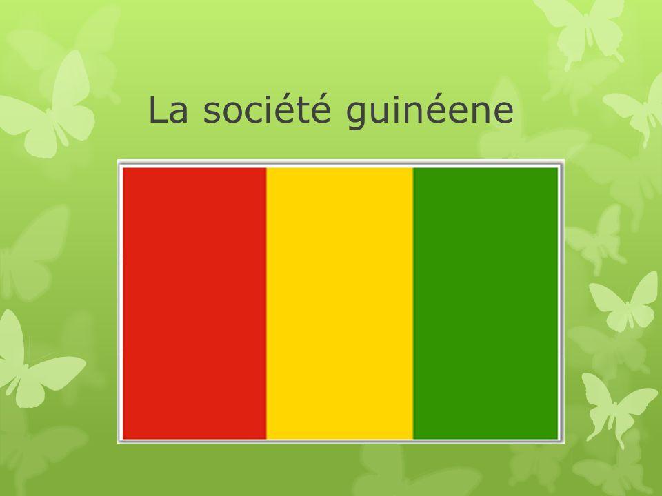 La société guinéene